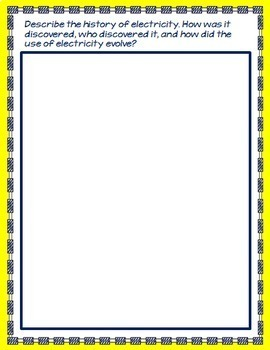 Electricity and Magnetism Interactive Notebook Google Drive Activities