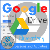 Google Drive Elementary Lessons & Activities Bundle UPDATED 2020