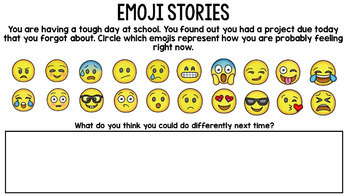 Google Drive - Emoji Literacy Activities - Special Education - Reading - Writing