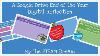 Google Drive End of the Year Digital Reflection
