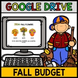 Google Drive Fall Budget - Special Education - Shopping - Life Skills - Math