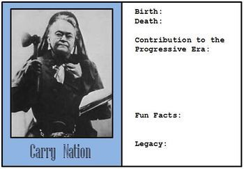 Google Drive - Famous Reformers from the Progressive Era Biography Cards