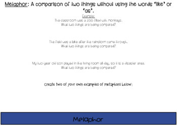 Google Drive Figurative Language Flipbook
