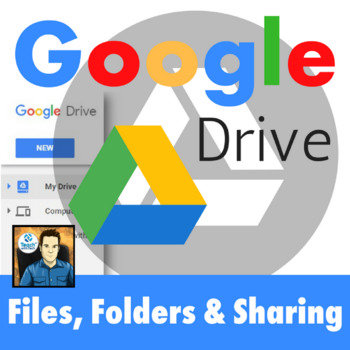 Google Drive Files, Folders and Sharing Lesson UPDATED 2018