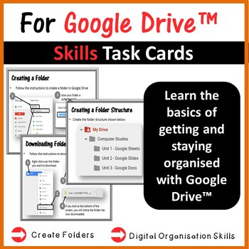 Google Drive Folders Task Cards