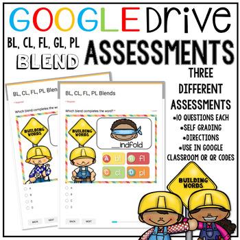 Google Drive (Forms) Blends Assessment #TPTDigital