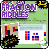 Google Drive Fraction Riddle Task Cards - Based on my Best