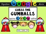 Google Drive & Google Classroom Guess the Gumballs CVCe Words