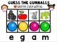 Google Drive & Google Classroom Guess the Gumballs CVCe Words