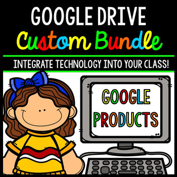 Google Drive - Google Classroom - Technology - Special Education - Bundle