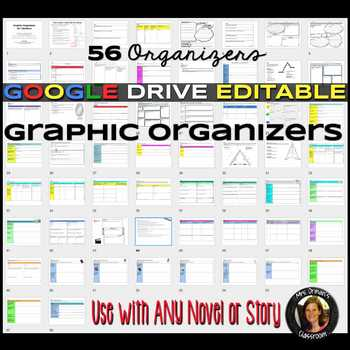 Google Drive Graphic Organizers: Reading Literature