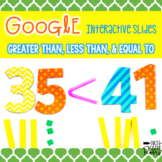 Greater Than, Less Than, or Equal to  ~ For Google Drive &