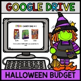 Google Drive Halloween Budget - Special Education - Shopping - Life Skills Math