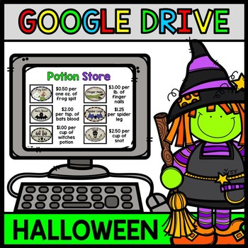 Google Drive Halloween - Special Education - Life Skills - Witch Potion - Recipe