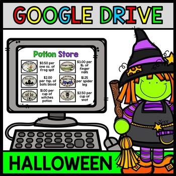 Google Drive Halloween - Special Education - Life Skills -