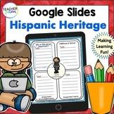 Hispanic Heritage Month Activities | GOOGLE CLASSROOM ACTIVITIES