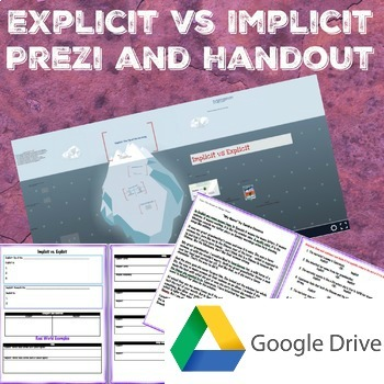 Google Drive: Implicit Vs. Explicit Prezi with handout