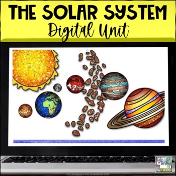 Interactive Flip Book for Google Drive - The Solar System - 5th Grade Science