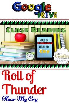 Roll of Thunder Hear My Cry- Digital Novel Study