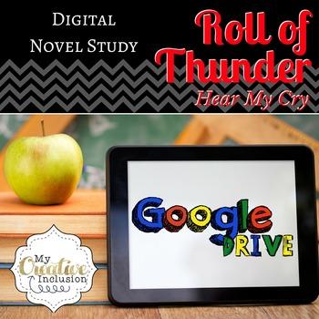 Google Drive Interactive Novel Study- Roll of Thunder Hear My Cry