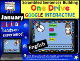 Google Drive January Scrambled Sentences Building in English