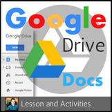 Google Docs Lesson & Activities UPDATED 2018