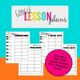 Google Drive Lesson Planner