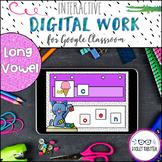 Google Drive Long Vowel Word Work Digital