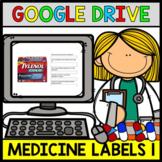 Google Drive - Medicine Label - Special Education - Life Skills - ELA - Unit1