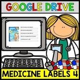 Google Drive - Medicine Label - Special Education - Life Skills - ELA - Unit4
