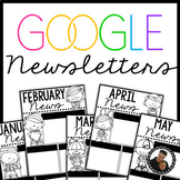 Google Drive Melonheadz Monthly Newsletters - Editable