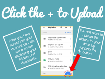 Uploading Mobile Photos to the Google Drive App - FREE LIFETIME UPDATES!