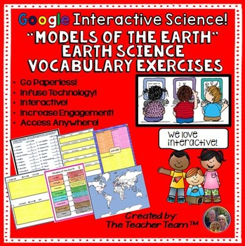 Models of the Earth Interactive Notebook Google Drive Activities
