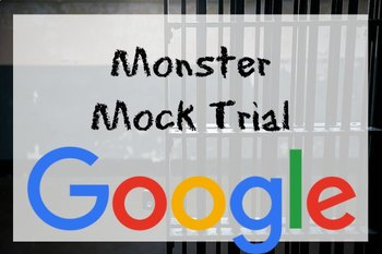 Google Drive Monster Mock Trial (Monster by Walter Dean Myers)