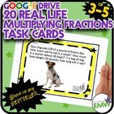 Google Drive Multiplying Fractions Task Cards Based on my Best Seller