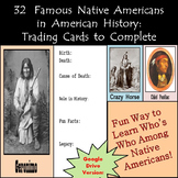 Google Drive - Native American Biography Cards to Create