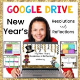 New Years 2021: Google Slides Activity and New Years Resol
