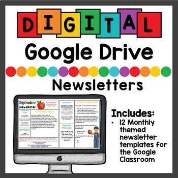 Google Drive Newsletters