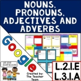 Nouns, Pronouns, Adjectives, Adverbs Practice ~ Google Drive L.3.1.A and L.2.1.E