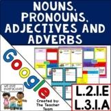 Parts of Speech | Google Classroom Activities