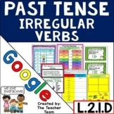 Past Tense Irregular Verbs Digital Interactive Notebook for Google Drive L.2.1.D