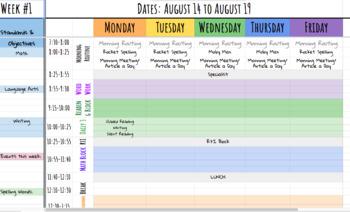 Google Drive Planner
