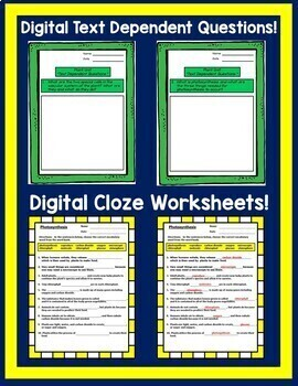 Google Drive Plants Unit Interactive Notebook For Google Classroom