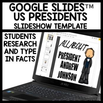 Google Drive President Day Activities #TPTDigital