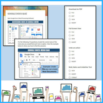 Google Drive Quiz / Investigation using Google Forms