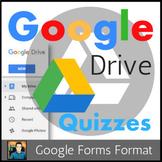 Google Drive Quizzes / Investigation