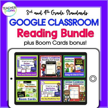 GOOGLE CLASSROOM READING ACTIVITIES BUNDLE