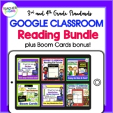 for Google Classroom Activities ELA & Text Features Boom Cards Nonfiction BUNDLE