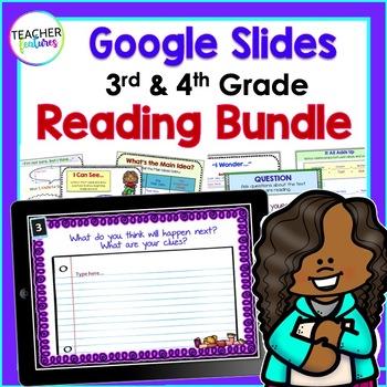 Google Classroom Activities ELA & Text Features Boom Cards Nonfiction BUNDLE