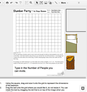Google Drive Real Life Area Slumber Party Layout  - Based on my Best Seller!